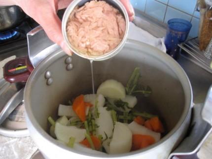 daikon pressure cooking