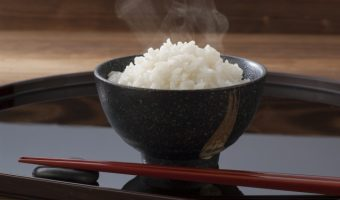 rice bowl and rice