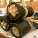 salmon wrapped Konbu
